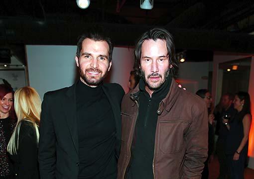 Iervolino e Keanu Reeves
