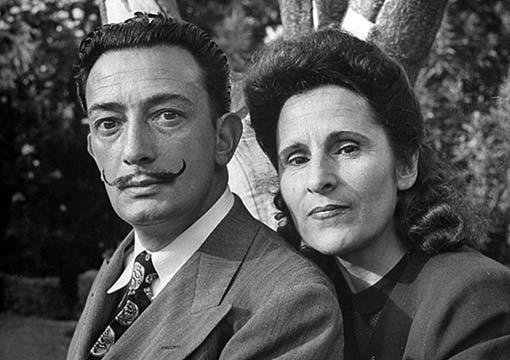 Salvador-Dalì e Galan