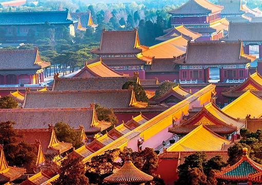 tetti di Pechino