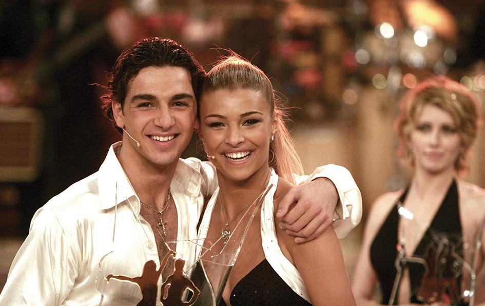 """Cristina Chiabotto nel 2006 quando vinse la prima edizione di """"Ballando con le Stelle"""""""