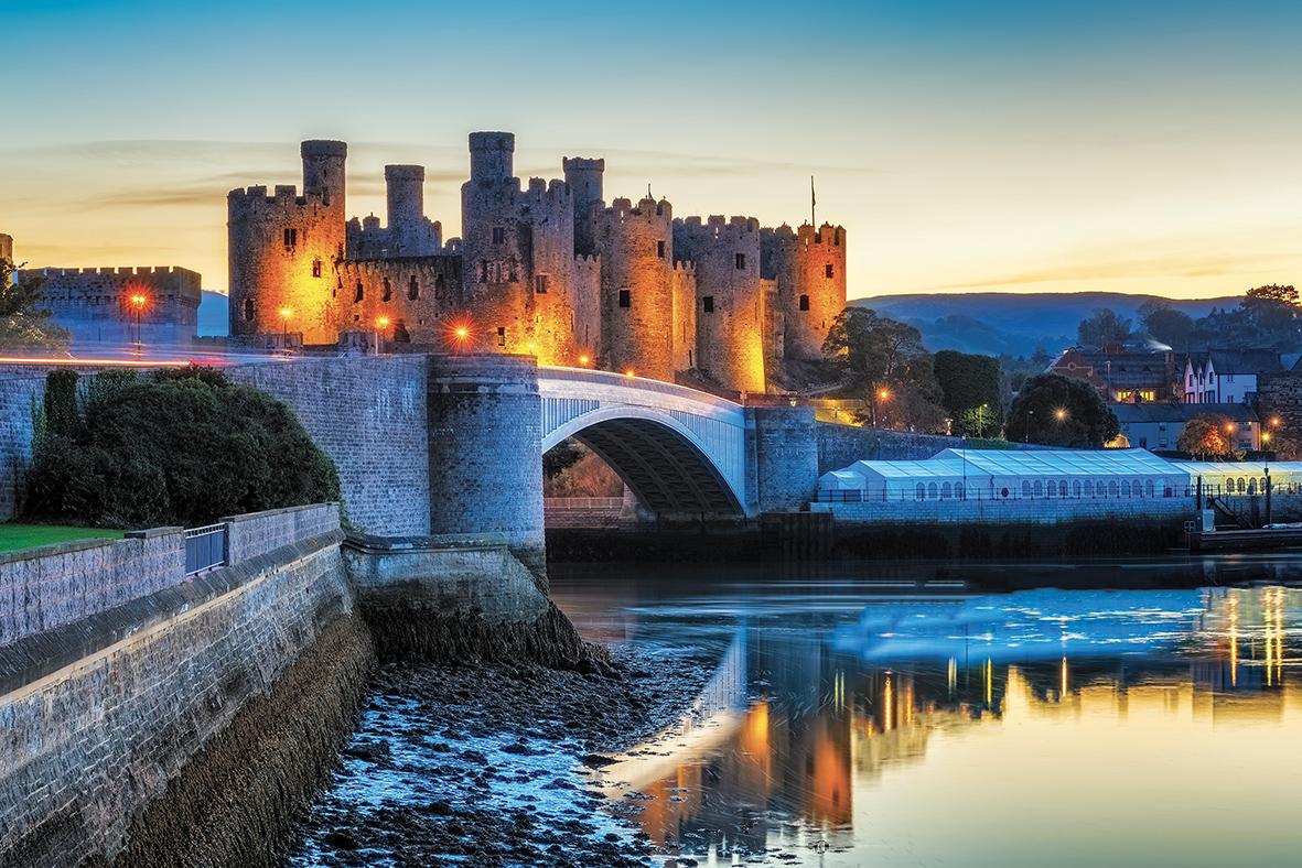 Il Castello di Conwy.