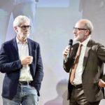 Il Prof. De martin durante uno degli incontri organizzati per il Festival della Tecnologia di Torino.